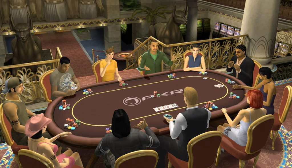 online poker rooms